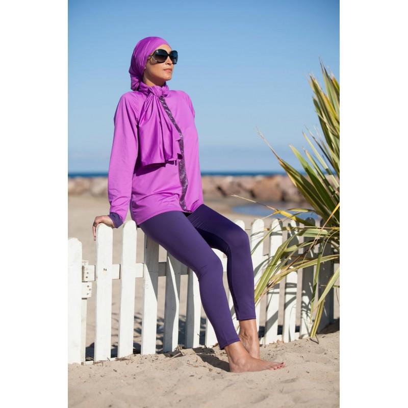 Favori A découvrir pour la femme voilée ce leggings de qualité pour burkini. ZW47