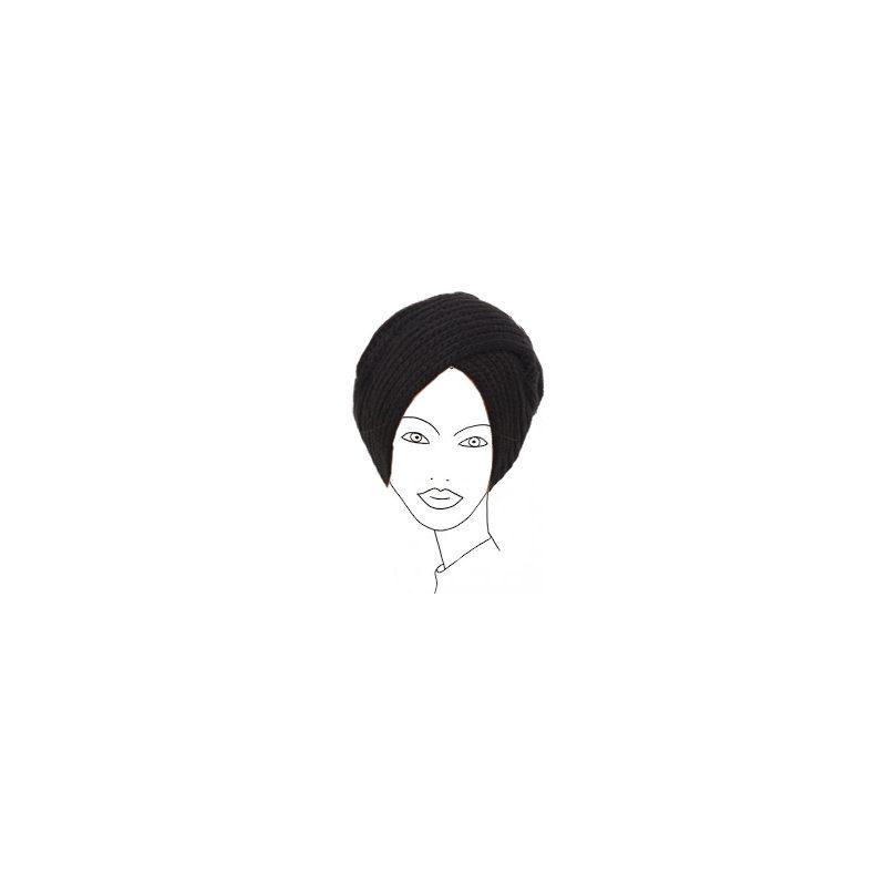 Bonnet turban pour femme voilée