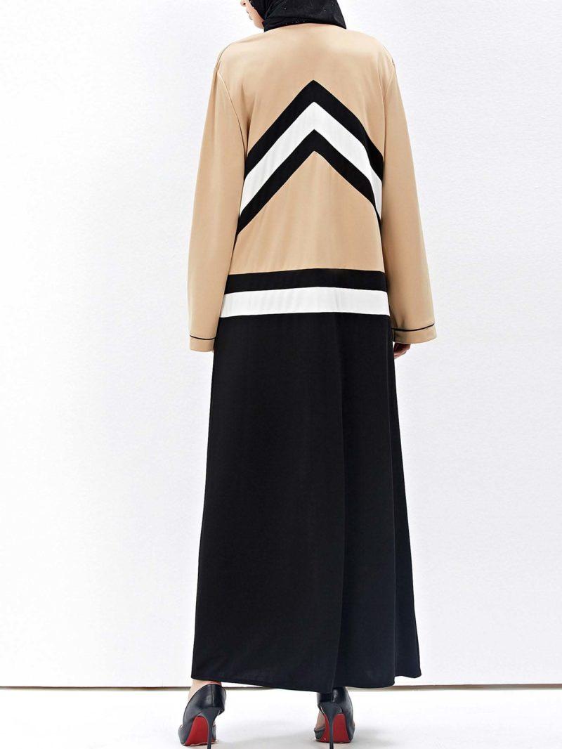 Abaya Moderne Dos