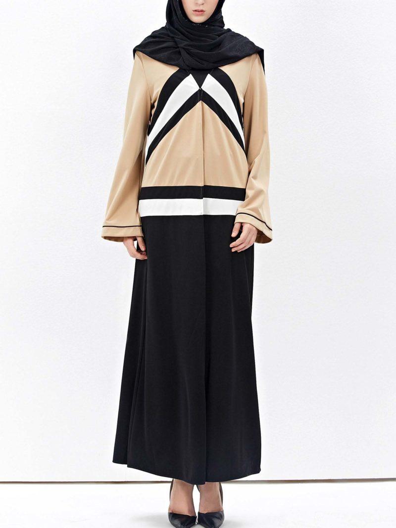 Abaya Moderne Asymetrique