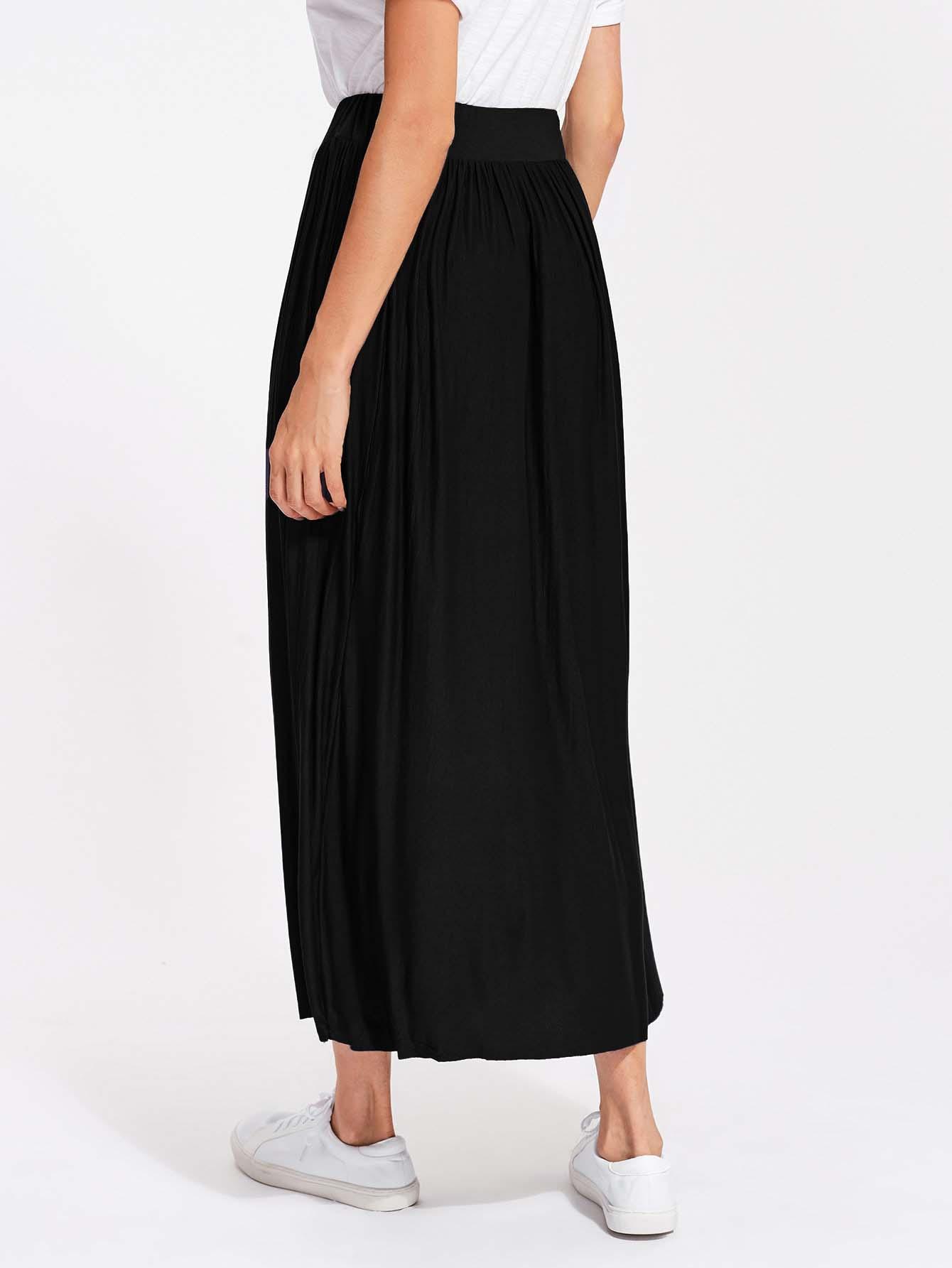 Jupe casual noire