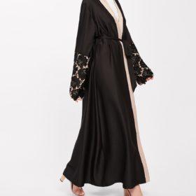 vetement-femme-musulmane-abaya-brodee-noir-profil