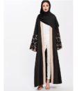 Vetement Femme Musulmane Abaya Brodee Noire