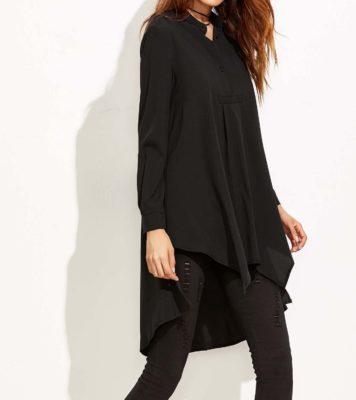 Vetement Femme Voilée Chemise Longue