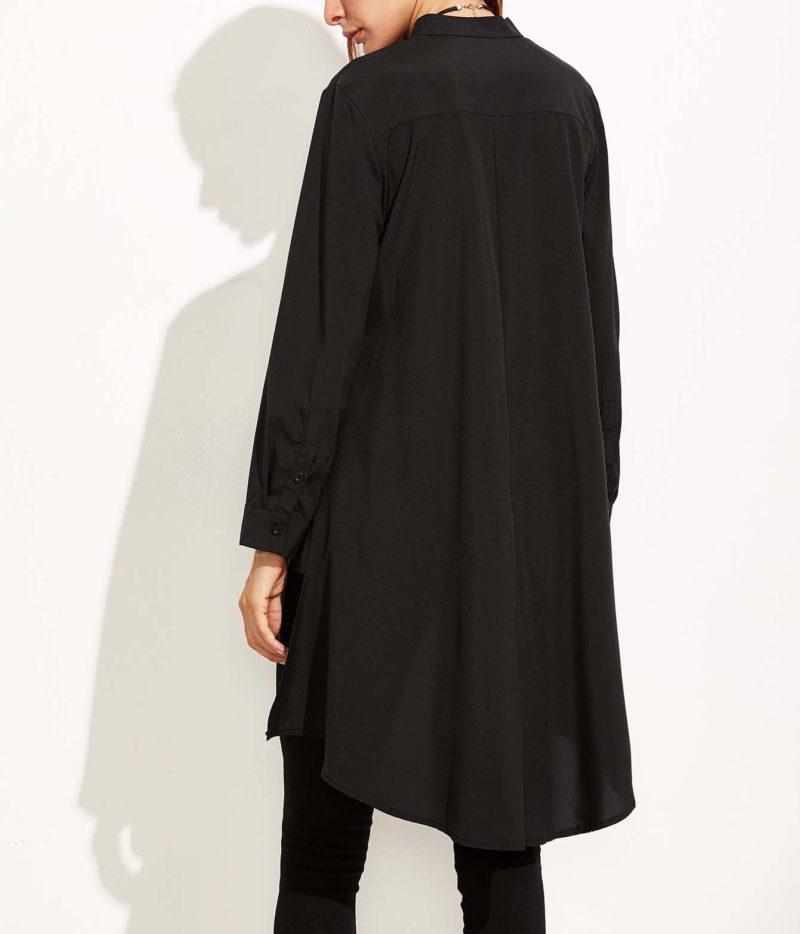 Vetement Femme Voilée Chemise dos