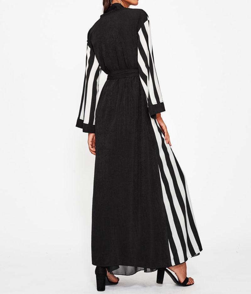 Abaya pas cher moderne dos