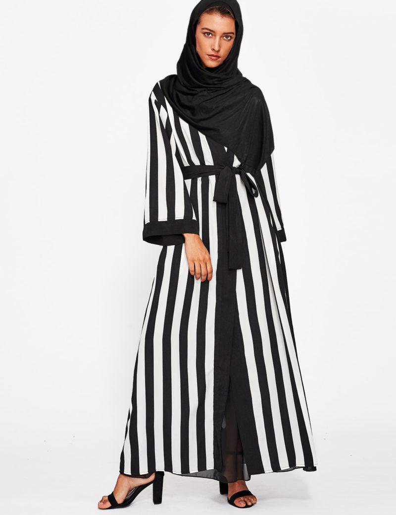 Abaya pas cher moderne face