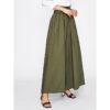 Vêtement islamique femme pantalon large vert