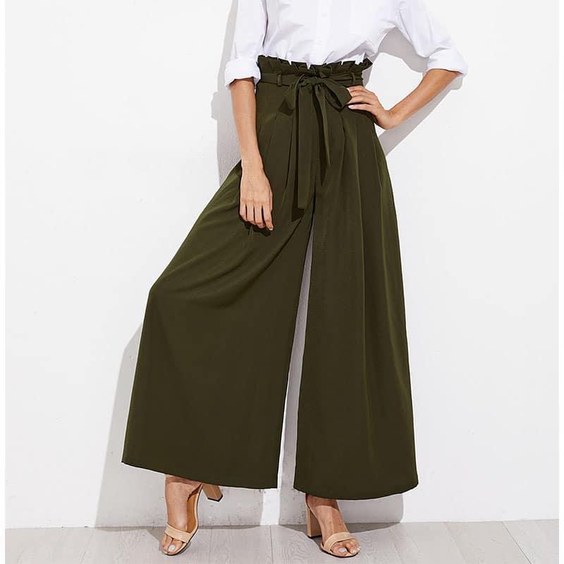 mode pantalon large 2018. Black Bedroom Furniture Sets. Home Design Ideas