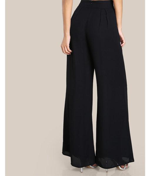 Pantalon noir islamique dos
