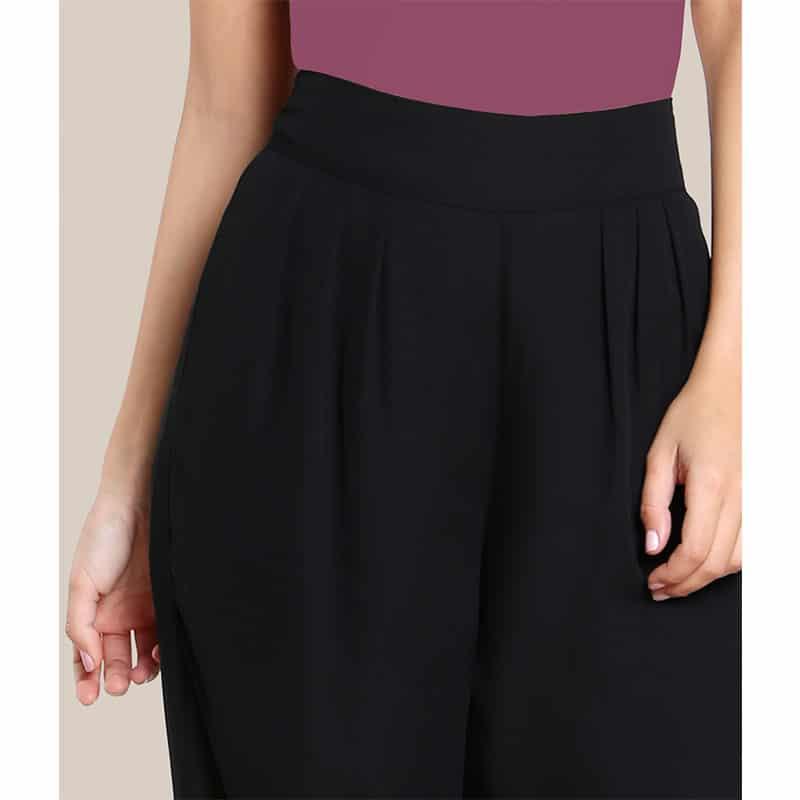 Pantalon noir islamique ceinture