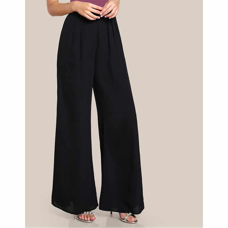 Pantalon noir islamique moderne