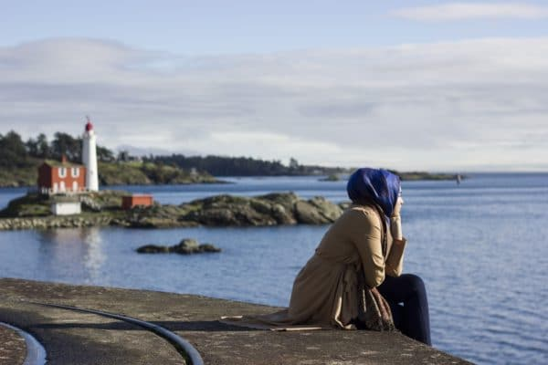 Femme musulmane tendance
