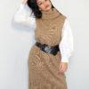 Robe pull pour femme musulmane